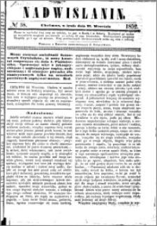 Nadwiślanin, 1852.09.22 R. 3 nr 58
