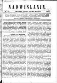 Nadwiślanin, 1852.09.25 R. 3 nr 59