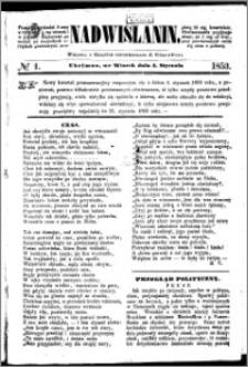 Nadwiślanin, 1853.01.04 R. 4 nr 1