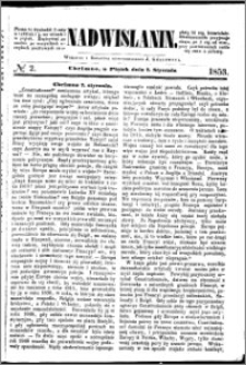 Nadwiślanin, 1853.01.07 R. 4 nr 2