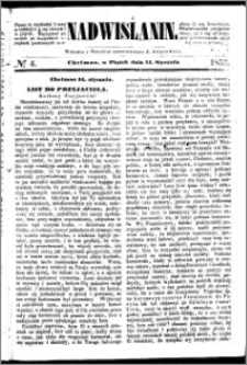 Nadwiślanin, 1853.01.14 R. 4 nr 4