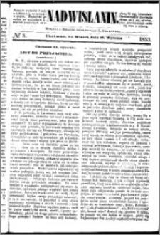 Nadwiślanin, 1853.01.18 R. 4 nr 5