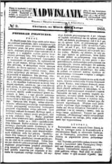 Nadwiślanin, 1853.02.01 R. 4 nr 9