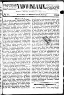 Nadwiślanin, 1853.02.08 R. 4 nr 11