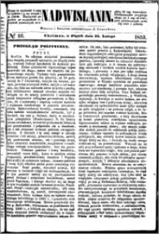 Nadwiślanin, 1853.02.25 R. 4 nr 16