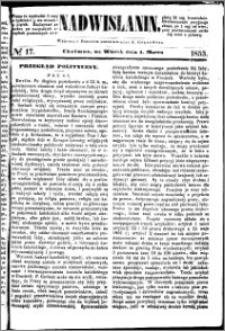 Nadwiślanin, 1853.03.01 R. 4 nr 17