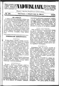 Nadwiślanin, 1853.03.11 R. 4 nr 20