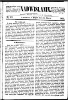 Nadwiślanin, 1853.03.18 R. 4 nr 22