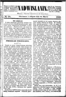 Nadwiślanin, 1853.03.25 R. 4 nr 24