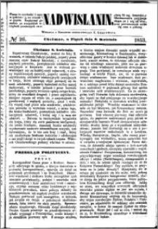 Nadwiślanin, 1853.04.08 R. 4 nr 26