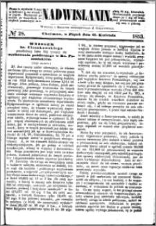Nadwiślanin, 1853.04.15 R. 4 nr 28