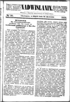 Nadwiślanin, 1853.04.22 R. 4 nr 30