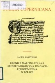 Kronika Marcina Polaka i jej średniowieczna tradycja rękopiśmienna w Polsce