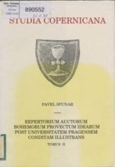 Repertorium auctorum Bohemorum provectum idearum post Universitatem Pragensem conditam illustrans T. 2