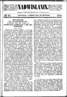 Nadwiślanin, 1853.04.29 R. 4 nr 32