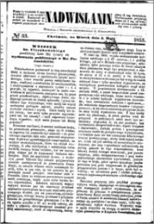 Nadwiślanin, 1853.05.03 R. 4 nr 33
