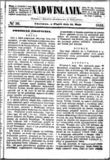 Nadwiślanin, 1853.05.13 R. 4 nr 36