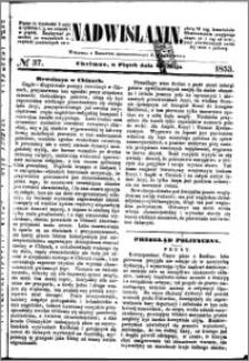 Nadwiślanin, 1853.05.20 R. 4 nr 37