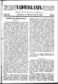 Nadwiślanin, 1853.05.24 R. 4 nr 38