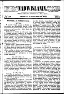 Nadwiślanin, 1853.05.27 R. 4 nr 39