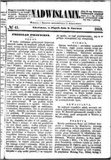 Nadwiślanin, 1853.06.03 R. 4 nr 41