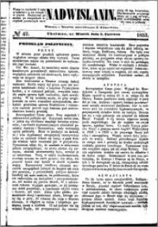 Nadwiślanin, 1853.06.07 R. 4 nr 42