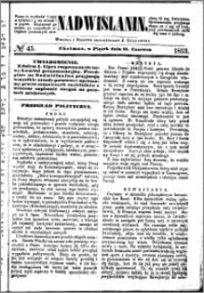 Nadwiślanin, 1853.06.17 R. 4 nr 45