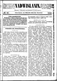 Nadwiślanin, 1853.06.21 R. 4 nr 46