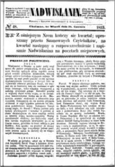 Nadwiślanin, 1853.06.28 R. 4 nr 48