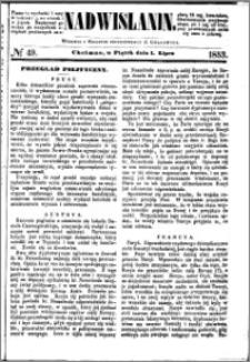 Nadwiślanin, 1853.07.01 R. 4 nr 49