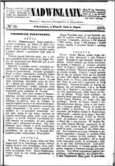 Nadwiślanin, 1853.07.08 R. 4 nr 51