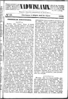 Nadwiślanin, 1853.07.15 R. 4 nr 53
