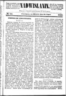 Nadwiślanin, 1853.07.19 R. 4 nr 54