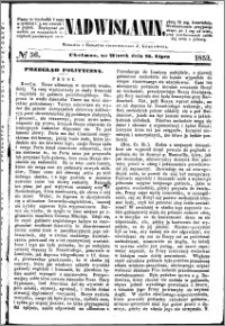 Nadwiślanin, 1853.07.26 R. 4 nr 56