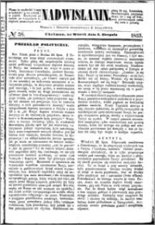 Nadwiślanin, 1853.08.02 R. 4 nr 58