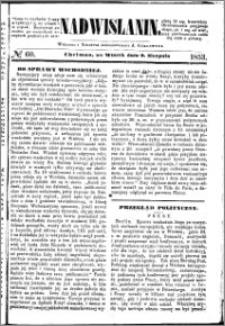 Nadwiślanin, 1853.08.09 R. 4 nr 60