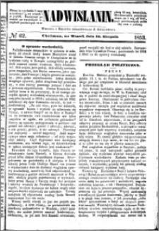 Nadwiślanin, 1853.08.16 R. 4 nr 62