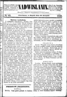 Nadwiślanin, 1853.08.19 R. 4 nr 63