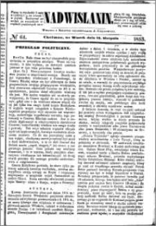 Nadwiślanin, 1853.08.23 R. 4 nr 64
