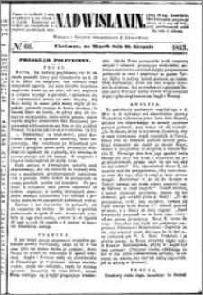 Nadwiślanin, 1853.08.30 R. 4 nr 66