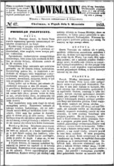 Nadwiślanin, 1853.09.02 R. 4 nr 67