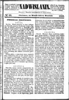 Nadwiślanin, 1853.09.06 R. 4 nr 68