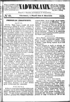 Nadwiślanin, 1853.09.09 R. 4 nr 69