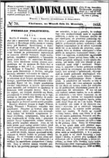 Nadwiślanin, 1853.09.13 R. 4 nr 70