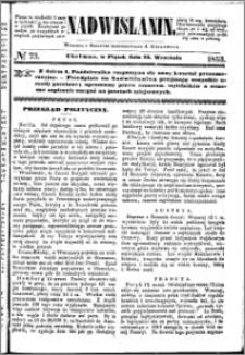 Nadwiślanin, 1853.09.23 R. 4 nr 73