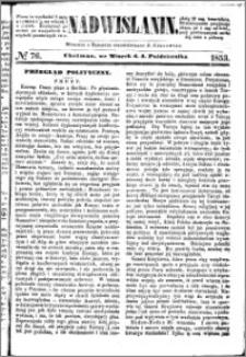 Nadwiślanin, 1853.10.04 R. 4 nr 76