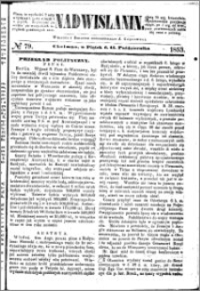 Nadwiślanin, 1853.10.14 R. 4 nr 79