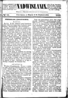 Nadwiślanin, 1853.10.21 R. 4 nr 81
