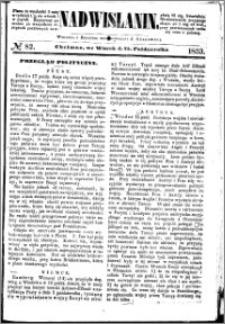 Nadwiślanin, 1853.10.25 R. 4 nr 82