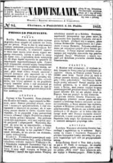 Nadwiślanin, 1853.10.31 R. 4 nr 84